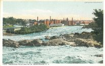 Photo Courtesy of Manchester Historic Association |Amoskeag Mills and Falls