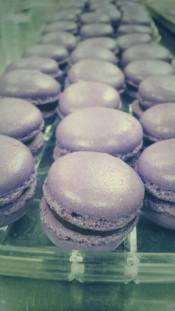 Finesse   Lavender Macarons