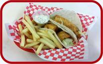 Red Arrow Diner | Fish Tacos