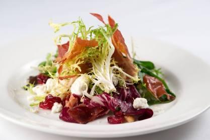 Hanover Street Chophouse| salad