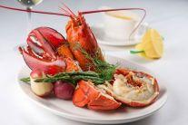Hanover St Chophouse | Maine Lobster--served lazyman style