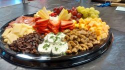 Bridge Cafe | fruit and cheese platter