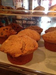 Cafe La Reine |vegan muffin