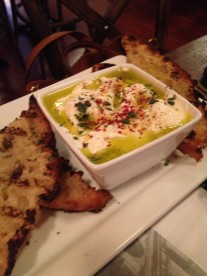Campo Enoteca | house made ricotta warm with olive oil