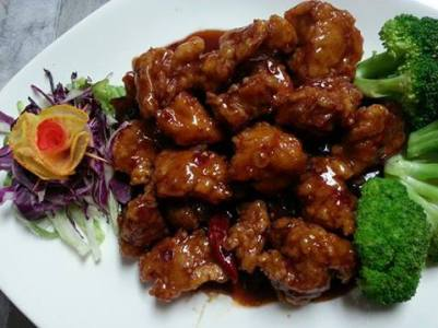 Jade Dragon | General Tso Chicken