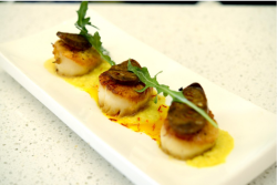 Mint Bistro | Pan-Seared Day Boat Scallops.