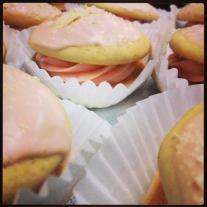 Baked | Strawberry Vanilla Mini Whoopie Pies