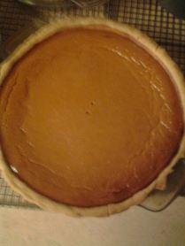The Red Barn Diner | pumpkin pie
