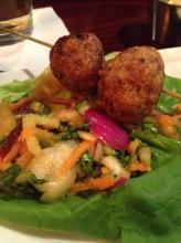 Firefly - sriracha Meatballs