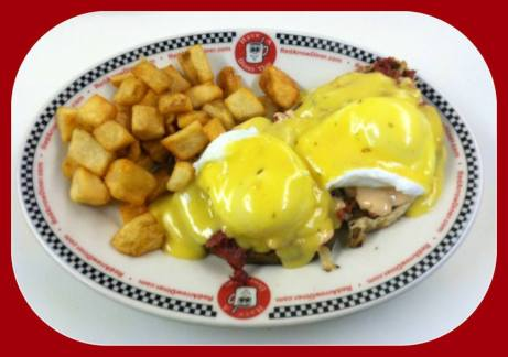 Red Arrow Diner | Grilled Chicken Bomb Hashbrown Special