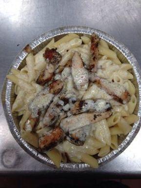 Bada Bing Pizza | Pasta Alfredo with grilled chicken