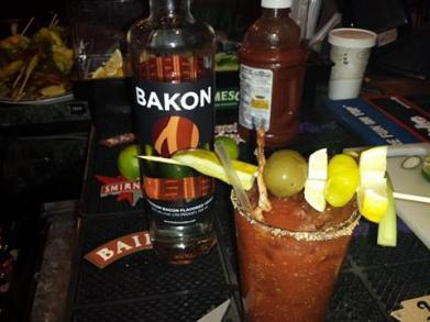 Milly's Tavern | Loaded Bloody Mary