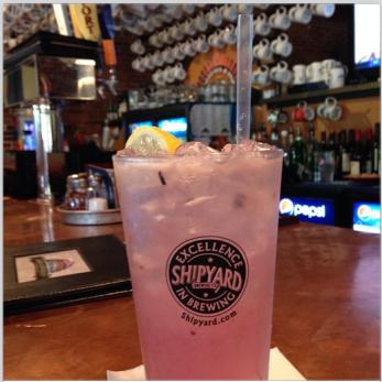 Portland Pie | Blueberry Lemonade Sparkler