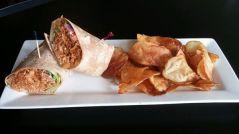 The Pint Publik House - Sriracha BBQ Chicken Wrap