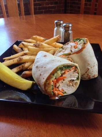 Waterworks cafe | Thai Chicken Wrap