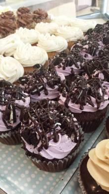 Queen City Cupcakes | blackberry truffle