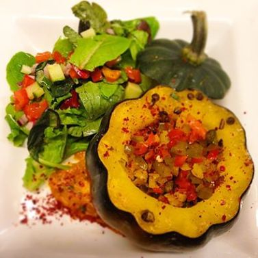 Republic - stuffed acorn squash