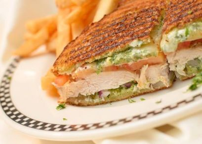 Fratellos | Grilled Chicken Pesto Panini