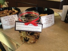 Finesse Pastries offers homemade dog treats for your furry friend!