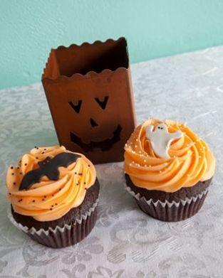 Queen City | Halloween Cupcakes