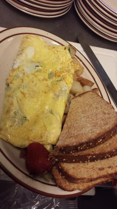 The Beanstalk Cafe | omlette