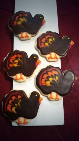 Finesse Pastries | Turkey Sugar Cookies