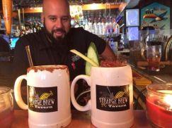 Strange Brew - Hot mulled cider cocktails
