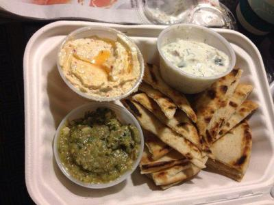 The Gyro Spot | pita and dip