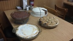 The Red Barn Diner | Pies!