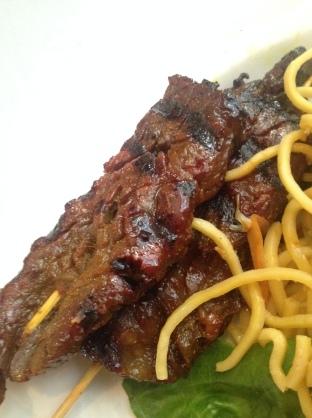 Tiya's Beef Satay