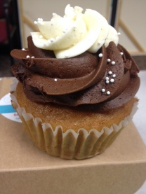 Queen City Cupcakes | vanilla and chocolate
