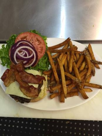 Maggie's | Cheeseburger and Fries