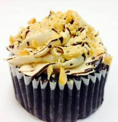 Queen City Cupcakes | Chocolate Cupcake with Peanut Butter Buttercream