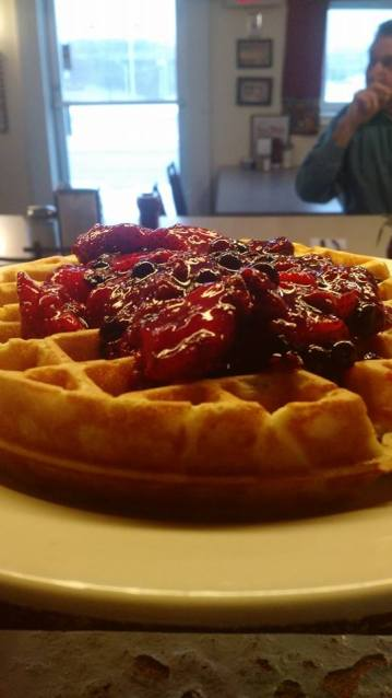 Red Barn - Wild Berry Waffle