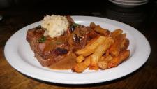 Shaskeen | Open Faced Meatloaf Sandwich
