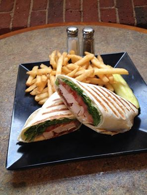 Waterworks Cafe | Grilled Chicken Wrap