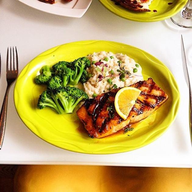 XO on Elm | Grilled Salmon