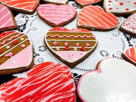 Baked | Gingerbread Heart Cookies