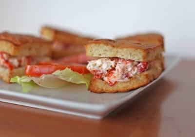 Portland Pie | Lobster roll
