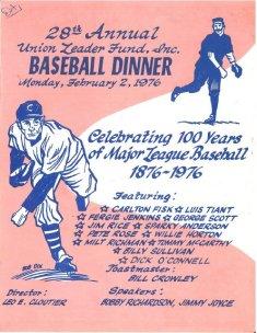 28th Annual Dinner - 1976