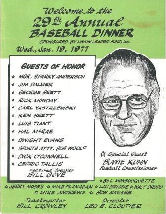 29th Annual Dinner - 1977