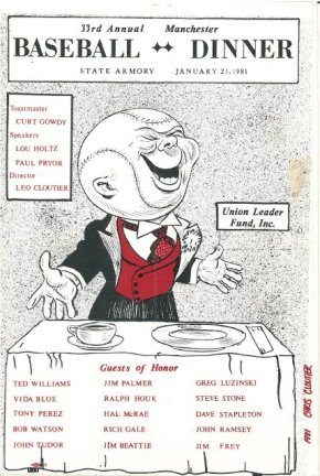 33rd Annual Dinner - 1981