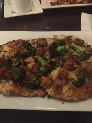 Republic | Broccoli Eggplant Flatbread