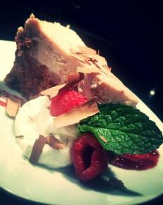 Lowell Street Eatery | Chocolate raspberry cheesecake