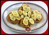 Red Arrow Diner - Peanut Butter Banana Waffles