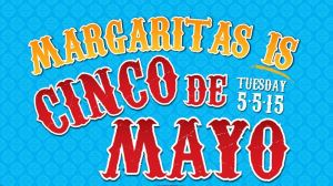 Margaritas Cinco de Mayo Header