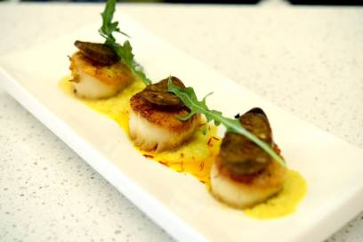 Mint Bistro - Pan Seared Scallops