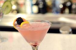 Mint   Raspberry Lemon Martini