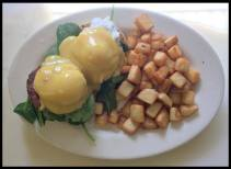 Red Arrow Diner - Turkey Sausage Benny