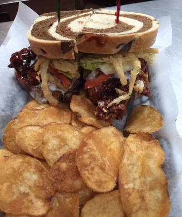 Bada Bing - BBQ Chicken Sandwich